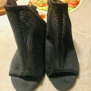 Never worn open toe bootie!